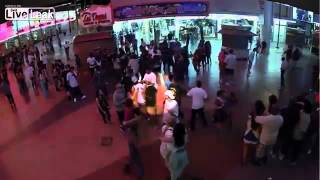 Shooting and Knock Out on Fremont Street