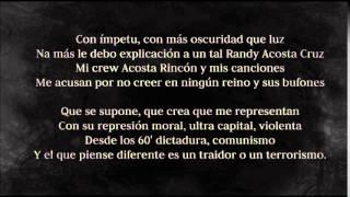 Rxnde Akozta ft. Canserbero - Juicio (Letra)