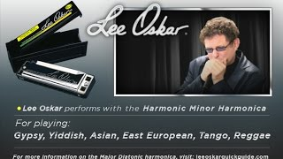 Lee Oskar Demonstrates - The Harmonic Minor Harmonica