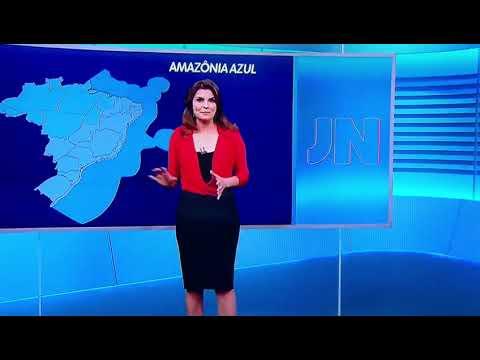 Amazônia azul no Jornal Nacional