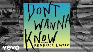 Maroon 5 - Don't Wanna Know (Audio) ft. Kendrick Lamar