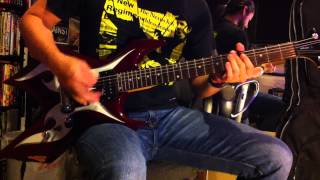 """The Nexus """"We Are One"""" WWE theme guitar cover"""