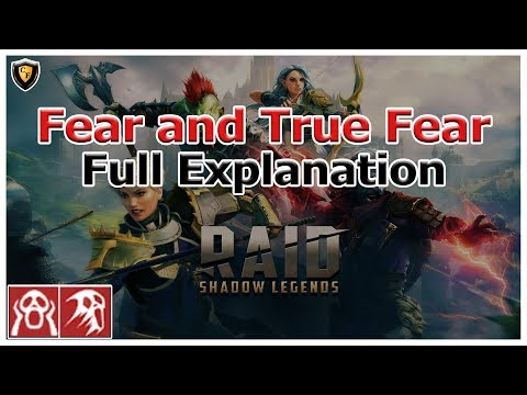 RAID Shadow Legends | Fear and True Fear Full Explanation + Live Example Walkthrough