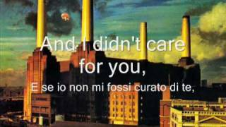 Pink Floyd - Pigs On The Wing pt. 1,2 - Combined Version - Testo e traduzione italiana-