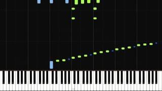 Happy Birthday [ Piano Tutorial ] ( Synthesia )