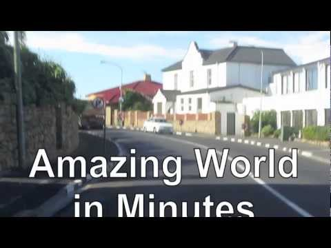 PAUL HODGE: AFRICA'S CAPE TOWN DRIVE, SOLO AROUND WORLD IN 47 DAYS, Ch 71, Amazing World in Minutes