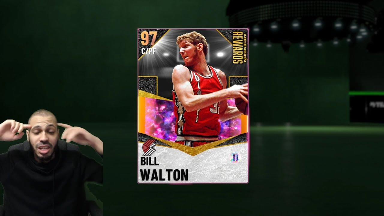 MosBallin - Galaxy Opal Bill Walton Gameplay in NBA 2K21 MyTeam! No Auction House #24