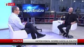 Victor Ponta - Adevarul LIVE