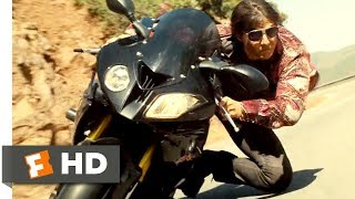 Mission: Impossible - Rogue Nation (2015) - Mountain Motorcycle Chase Scene (7/10) | Movieclips
