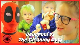 Baby Heroes 2: Kid Deadpool vs Hulk & Supergirl in Real Life comics | Superhero Kids