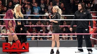 Rusev rudely confronts Sasha Banks: Raw, Oct. 10, 2016 width=