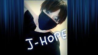 J-Hope 정 호석 BTS makeup inspired cosplay (Bangtan Boys) 방탄소년단