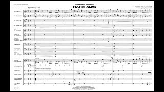 Stayin' Alive arranged by Paul Murtha