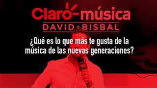David Bisbal - #CharlandoClaro