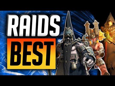 RAIDS TOP 50 CHAMPIONS!   Raid: Shadow Legends