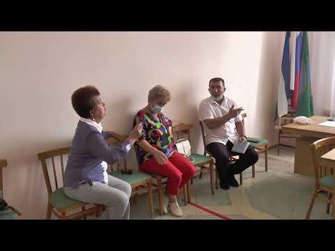 Глава района провел прием граждан в с. Никифарово