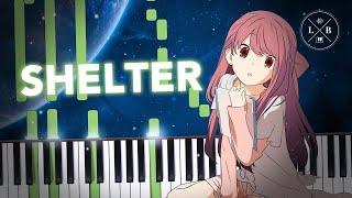 Porter Robinson & Madeon - Shelter - Piano