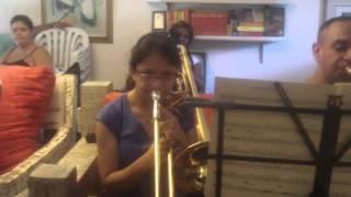 Nahor Gomes - aula prática Big Band Avaré 2