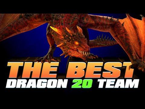 Best Dragon 20 Team in the WORLD I Raid Shadow Legends
