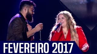 Top 10 - Músicas Sertanejas Mais Tocadas - FEVEREIRO 2017