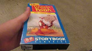 3 Different VHS Versions of Winnie the Pooh and Tigger Too