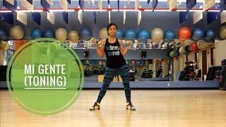 "Dance Toning w/ Diny - ""Mi Gente"" (J Balvin) - Reggaeton/ZT: ARMS"