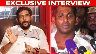 Vishal குடிச்சிட்டு கும்மாளம் அடிக்கவProducer council ? Suresh Kamatchi  Angry interview
