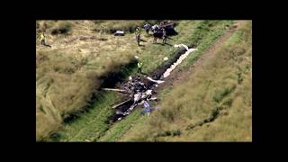 RAW VIDEO: Fatal medical helicopter crash in North Carolina