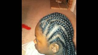 MORE BRAIDS ON NATURAL HAIR