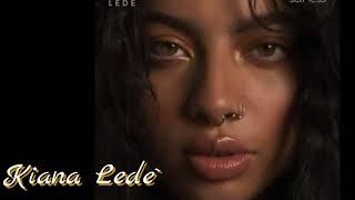 Kiana Lede` show love