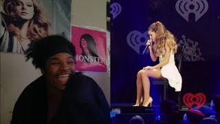 Ariana Grande- Honeymoon Avenue Live Jingle Ball 2013 (REACTION)