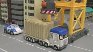 로보카폴리 상하차 놀이 장난감 Robocar Poli Container Toys
