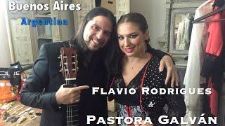 [TOTAL FLAMENCO] Saludos desde Buenos Aires con Pastora Galván