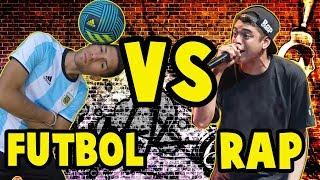 Kodigo y Charly Iacono - Freestyle Rap y Freestyle Futbol 2017