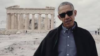 President Obama at the Acropolis in Athens