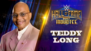 Teddy Long entra a formar parte del WWE Hall of Fame