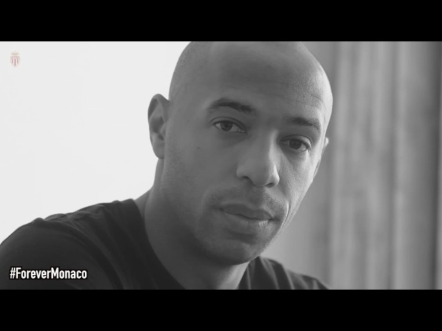 THE BEAUTIFUL RETRO CLIP OF THE ACE MONACO TO ANNOUNCE THE ARRIVAL OF THIERRY HENRY