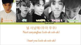 DAY6 - Hunt Color Coded Lyrics [Han/Rom/Eng]