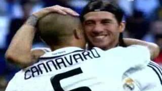 Despedida de Fabio Cannavaro en el Santiago Bernabéu