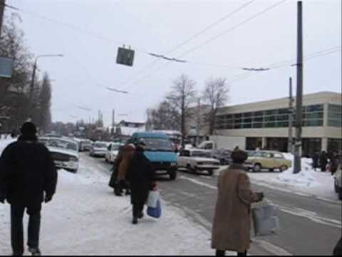 29.01.2010 Zaporozhye,Ukraine…Morning….wmv
