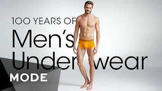 100 Years of Fashion: Men's Underwear ★ Mode.com