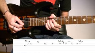 Como Tocar El Solo De Nothing Else Matters (Metallica) / Video Tab Tutorial De Guitarra TCDG