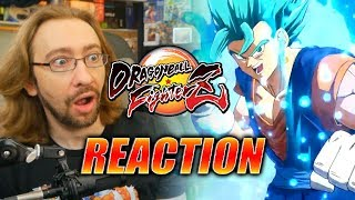 MAX REACTS: Vegito Blue Trailer/Reveal - DragonBall FighterZ