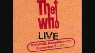 Behind Blue Eyes The Who Live in Mansfield 2002 (audio)