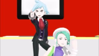 [MMD] Pokemon ORAS- Womanizer (Steven and Wallace)