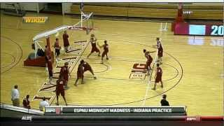 2012-2013 Indiana Hoosiers Men's Basketball First Practice
