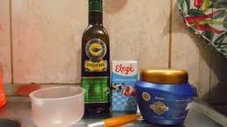 Hidratação com creme de leite e azeite ( cabelo )