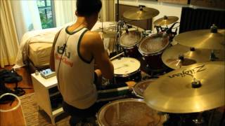 Once in a While - Timeflies - drum cover - The J