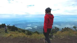 Reaching Top of Merbabu Song: I Can See For Miles by Surfing The Apocalypse