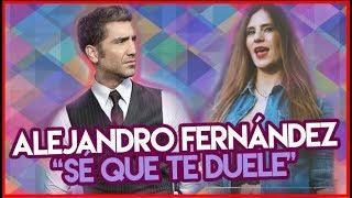 Alejandro Fernández - Sé Que Te Duele ft. Morat (Cover Carmen Lemos)   La Roqueta